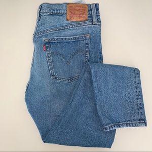 Levi's 501 Mid-Light Wash Jeans